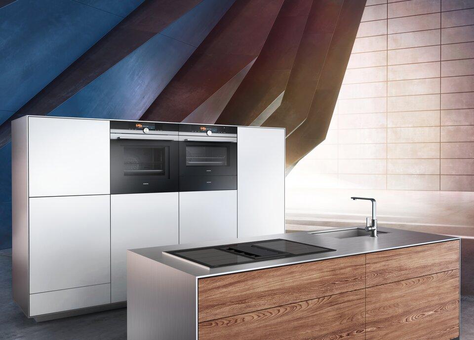 Bon Mit Den Neuen Einbaugeräten Lädt Siemens Sie Ein, Die Zeit In Ihrer Küche  Zu Genießen. Neue Anspruchsvolle Und Energiesparende Innovationen Und Ein  ...
