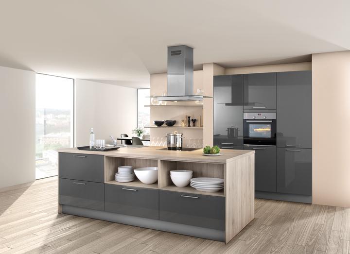 graue küchen  küchentrends in grau  kücheco