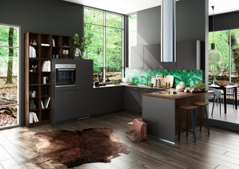 Graue Küchen - Küchentrends in Grau - Küche&Co