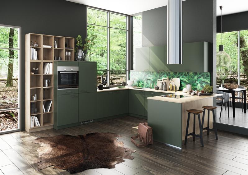 Berühmt Grüne Küchen - Küchentrends in Grün - Küche&Co SS82