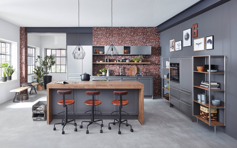 Industrial Style für die Küche - Küche&Co