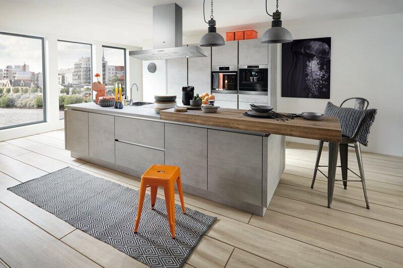 Küchentrend Beton und Stein - Küche&Co