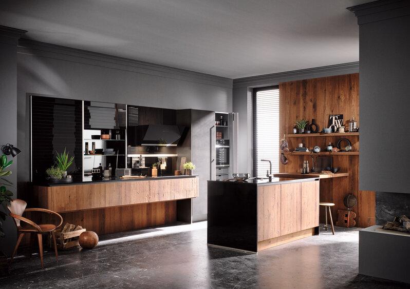 Küchentrend Materialmix: So kontrastreich sind die neuen ...