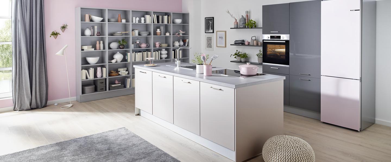 Küchentrend Pastell - Zarte Farben für die Küche - Küche&Co