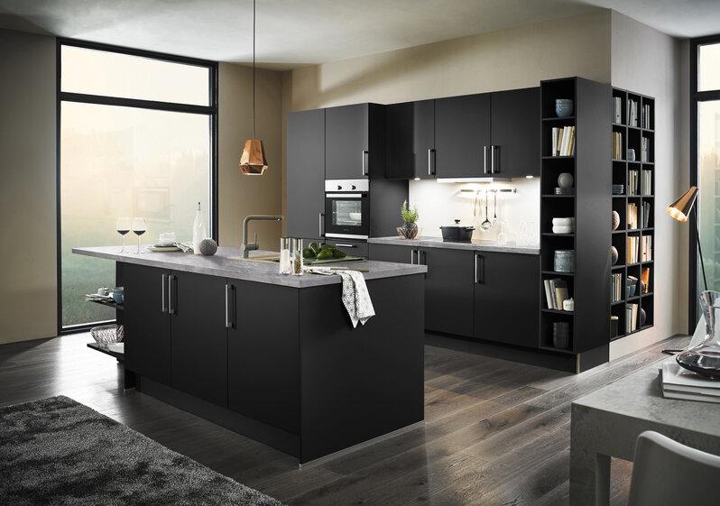 Küchentrends In Schwarz