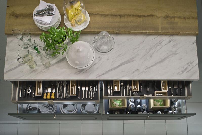 Clevere Ausstattung für eine perfekt organisierte Küche ...