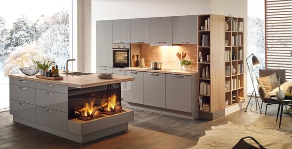 Moderne Design-Küche, Designer Küche günstig kaufen - Küche&Co