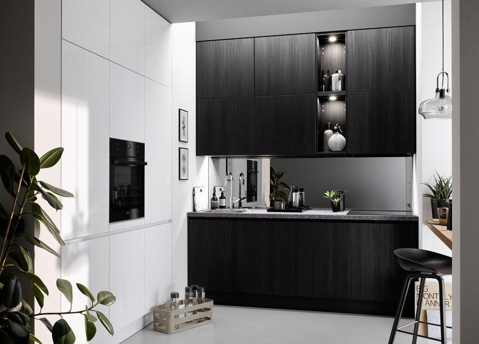 Einbauküchen Für Singles Sind Oftmals Kleiner Und Werden Womöglich Nicht  Täglich Zum Kochen Genutzt. Der Vorhandene Platz Sollte Optimal Ausgefüllt  Werden ...