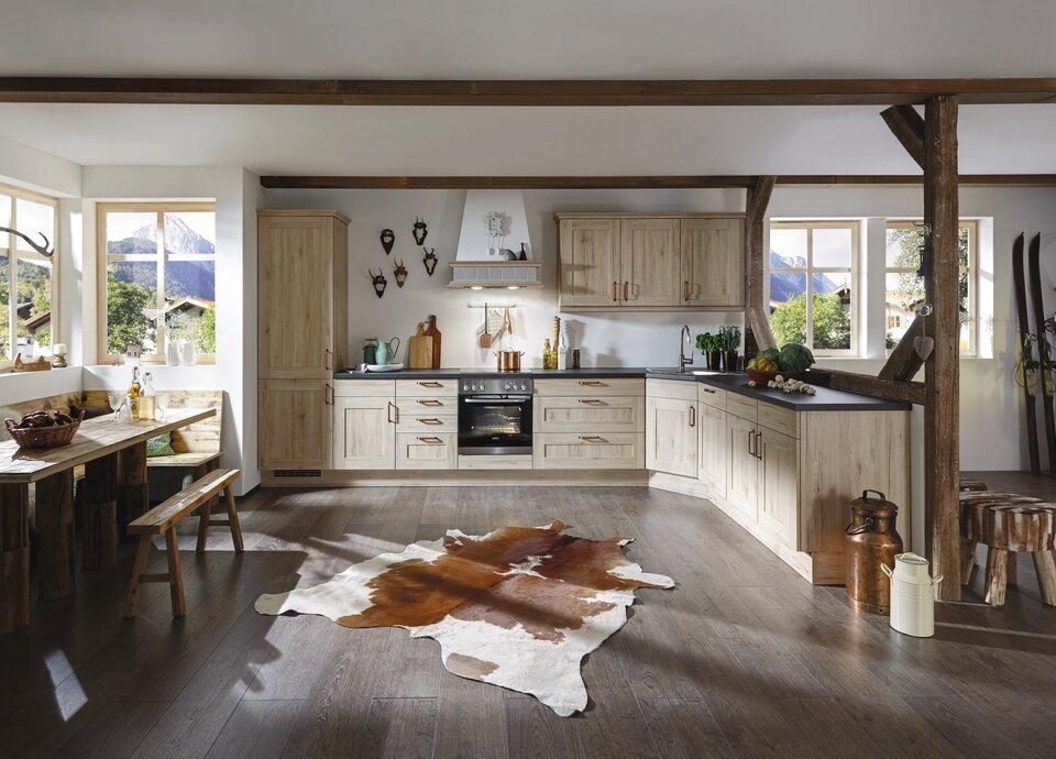 Landhausküche günstig kaufen, Einbauküche im Landhausstil, - Küche&Co